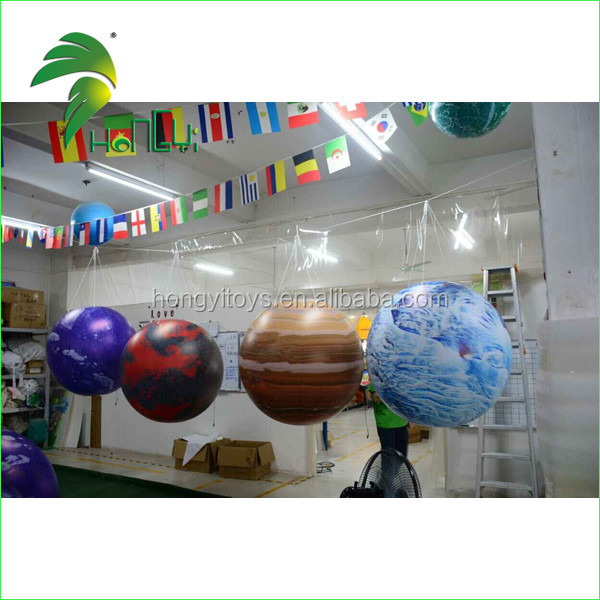 Full Printing Inflatable Hanging Balloon , Inflatable PVC Balloon