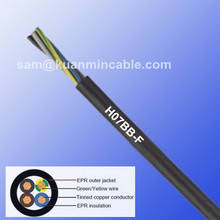 electric steam generator H07BB-F earth wire, CE certificated,EPR material cable,screened power and control cable