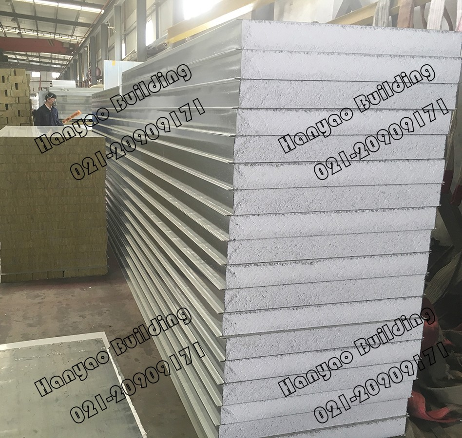 Fireproof And Sound Insulation 50 To 200Mm Eps Sandwich Panel For Floor