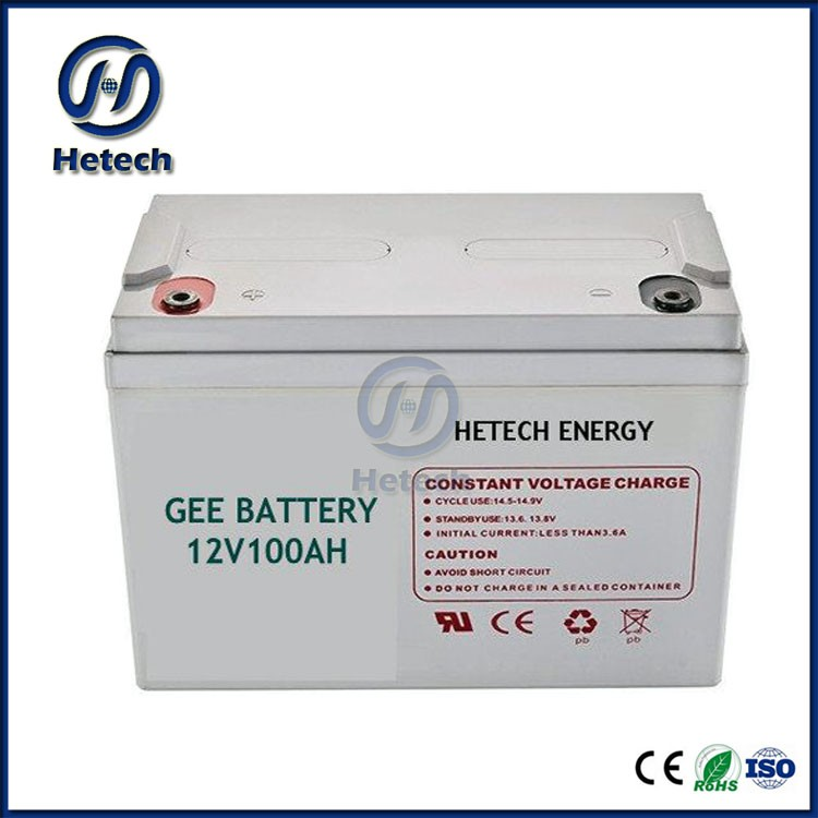 12v 100AH sealed lead acid battery gel battery solar battery