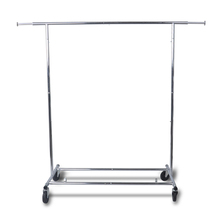 Collapsible Folding Rolling Clothing Garment Rack