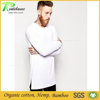 Men's Fashion Casual Long Sleeve T Shirt Slim Fit Bamboo Fiber