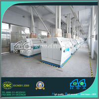 Newest type world wide high capacity rice and wheat flour milling machine