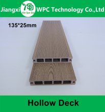 Outside Cheap Price WPC Floor Sea Beach Road Easy Install Wood Plastic Composite Decking Anti-slip WPC Board
