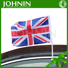 30*45cm custom promotion car window national Union Jack britain flag