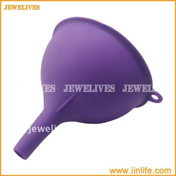 Useful silicone oil funnel