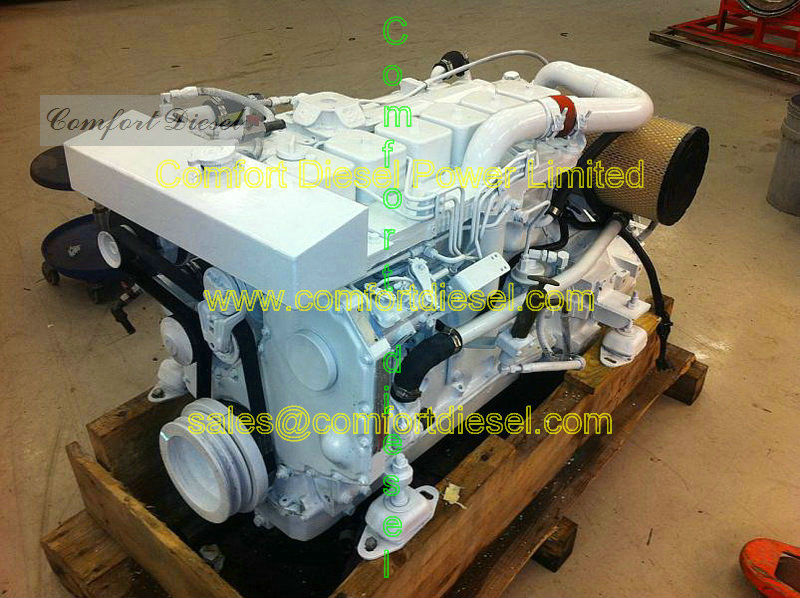 marine propulsion!cummins 6BTA-M marine propulsion engine ,used for fishing ship, barge, dredger boat