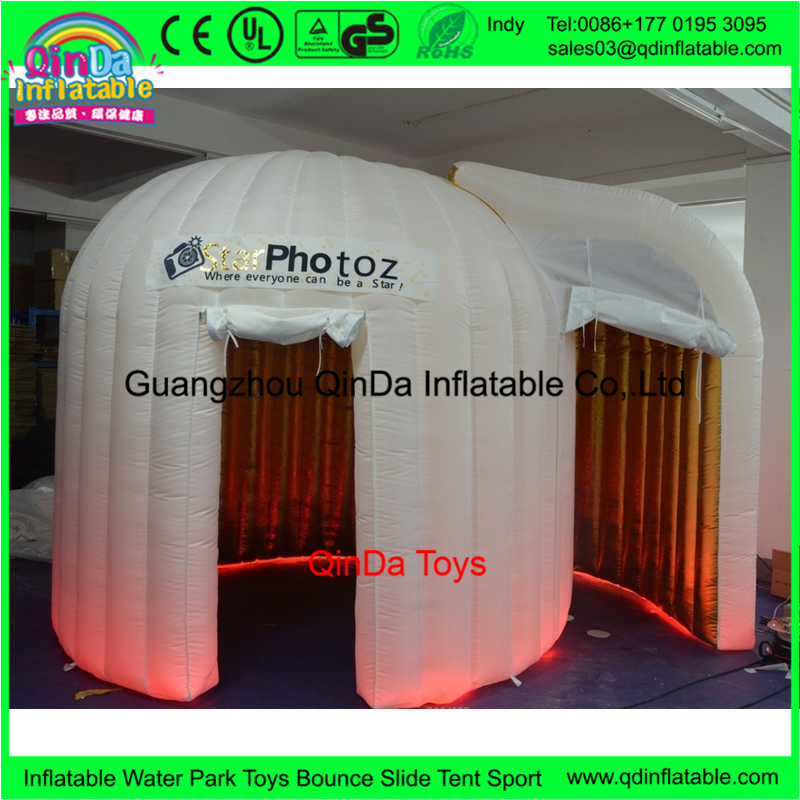 Top seller new style cheap igloo photo booth inflatable tent ,used photo booth for sale