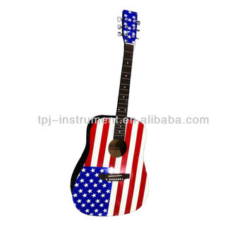 acoustic guitar AG-41 FLAG