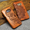 High Quanlity Custom Wooden Material Phone Cover Wood Phone Case For Samsung Galaxy S6
