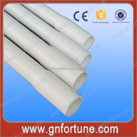 Wholesale Full Size Electrical White PVC Plastic Pipes