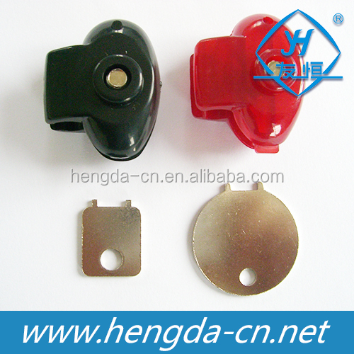 Economic nylon safe trigger pistol lock with two colors