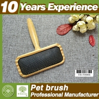 10 years experience professional bamboo dog brush wholesale , Eco-Friendly pet hair removal brush
