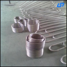 Hot sale gr2 titanium tube for heat exchanger use