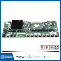 Pcb design service project ENIG+GF Surface Finishing control circuit board