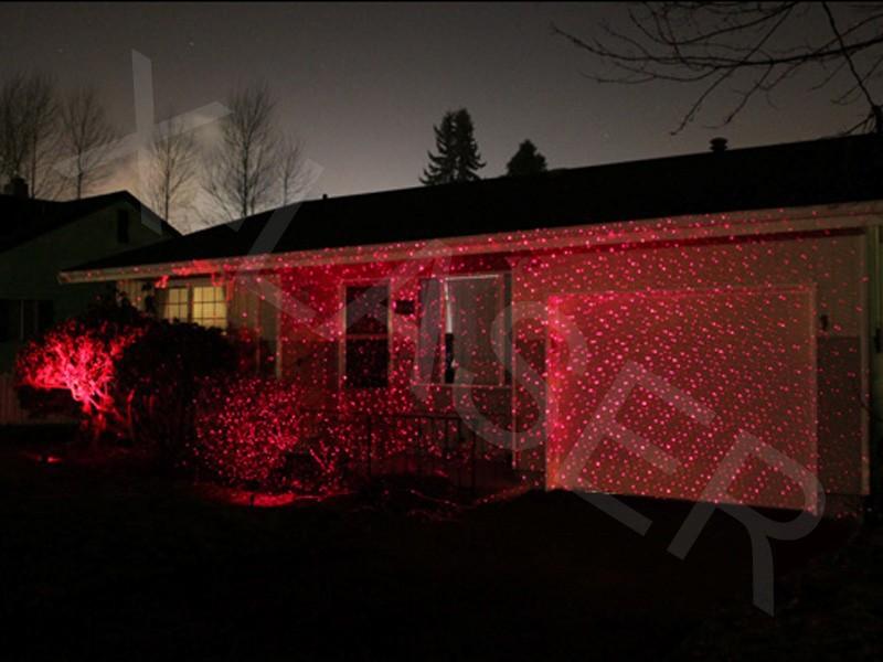 Jardin laser de noël lumière extérieure / extérieur de noël ...