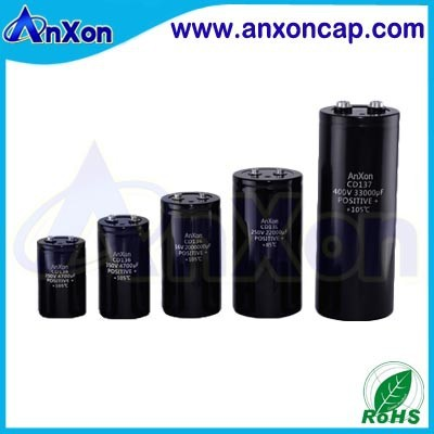 350V 820uF Screw Terminal Aluminum Electrolytic Capacitor China Manufacturer 350V 820MFD Capacitor