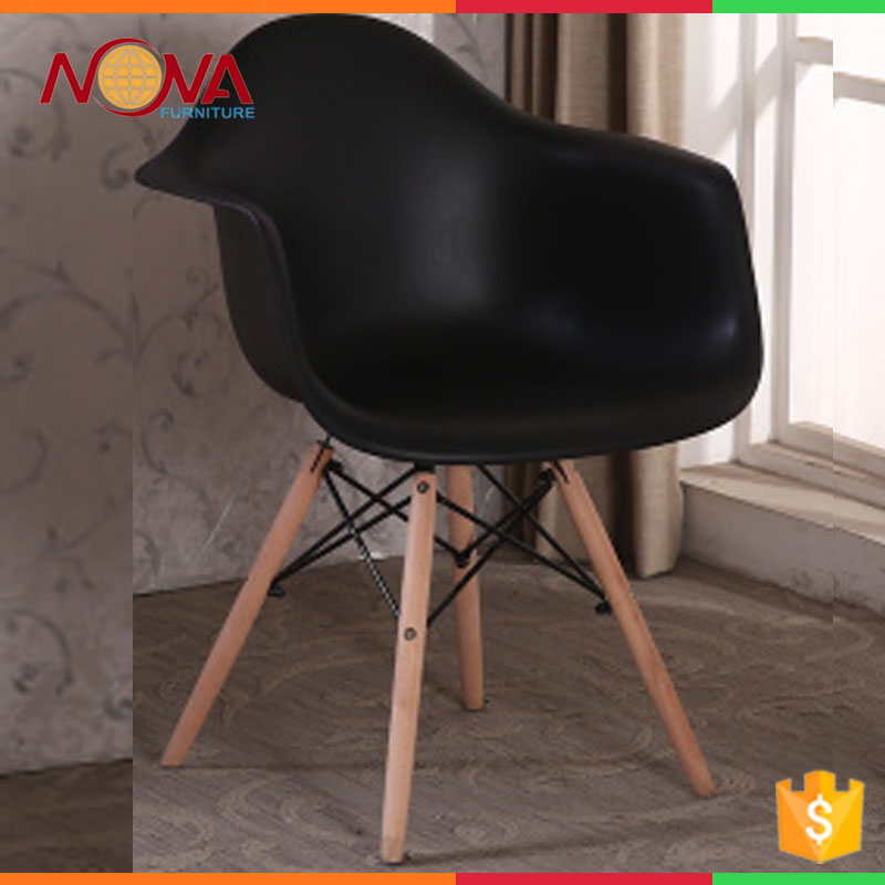 Home furniture cheap used high-end no folded wooden legs colorful comfortable armrest living room chairs with wooden legs on sal