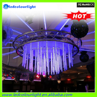 2015 China supplier Christmas outdoor led falling snow lights meteor shower tube christmas lights