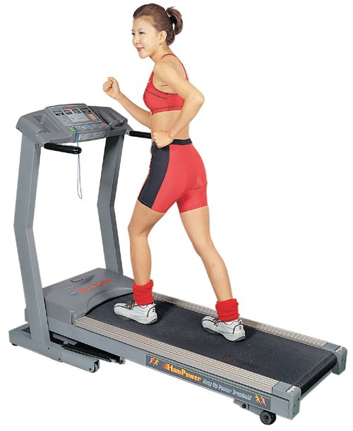 OH-5000 AC Motorized Treadmill