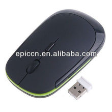 Computer accessories wireless mouse/ one AA battery/ with 2.4Ghz, 1000DPI--500DPI adjustable 10m distance