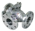 3 ways ball valve(T-port or L-port)