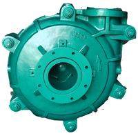 Horizontal single stage 4 inch centrifugal end suction Slurry Pump