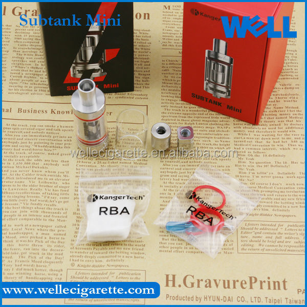 Alibaba China Kanger mini Subtank clearomizer 22mm Kanger Subtank mini with 4.5 ml capacity and fast delivery