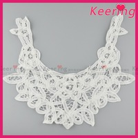 China wholesale cotton neck lace designs crochet lace collar