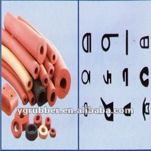Pink / Red Silicone Foam Sponge Tube