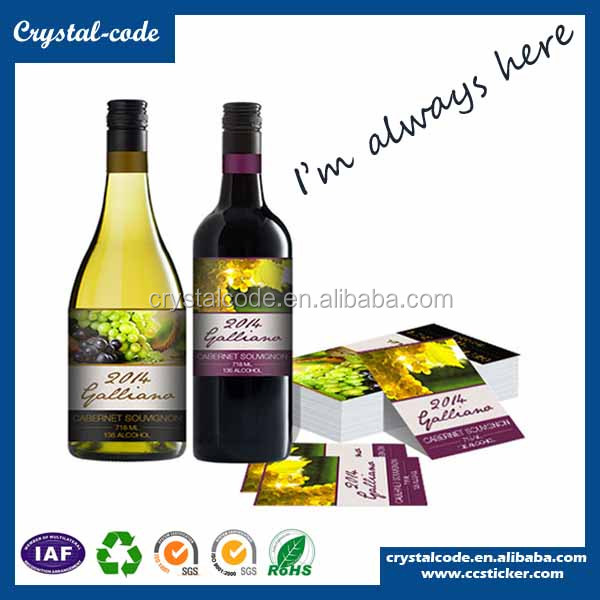 Hot sale wholesale shrink wrap for wine bottle label