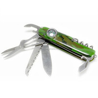 Best Multi Tool Army Pocket Knife with Compass Wholesale