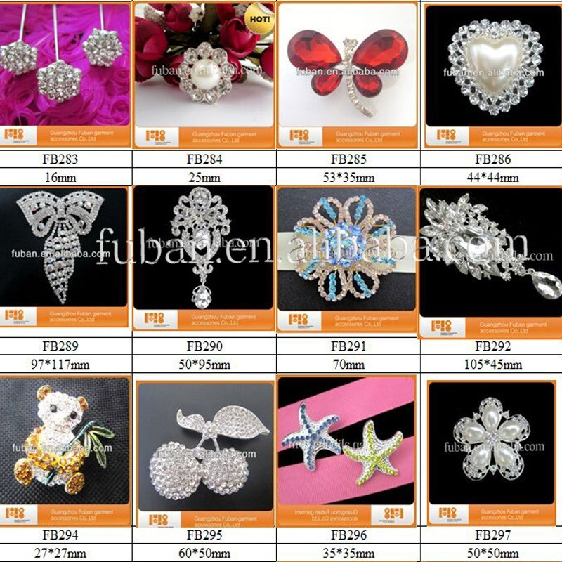 2017 Hot Sale!High Quality Various Styles Crystal Rhinestone Bikini Connectors For Swimwear Metal Accessories