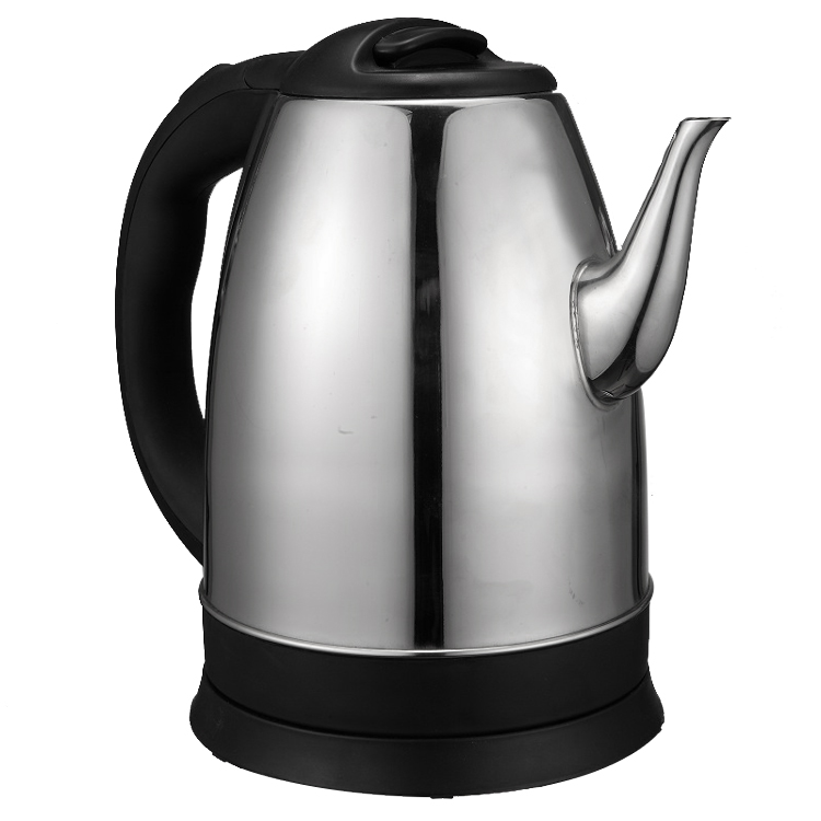 Alibaba supplier wholesale 1.8 l goose-spout stainless steel water electric kettle