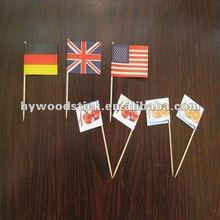 cocktail toothpicks flags