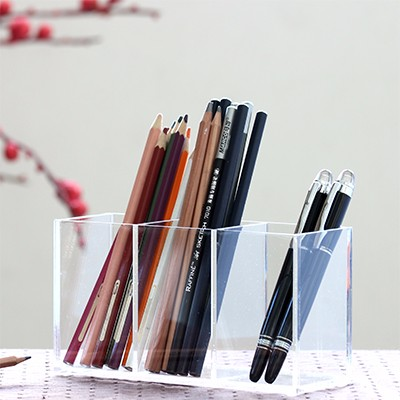Amazon Hot Sell Acrylic custom pen holder for desk or table/Manufacturer Sales Amazon