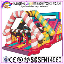 Commercial Use Outdoor Colorful Inflatable Slide