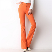 WA7091 2016 autumn new high waist casual trousers OL career stretch trousers lady pants