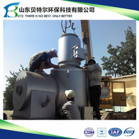 Animal Carcass Incinerator, used for pet hospital or poultry farms