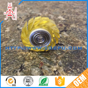 Factory customized low noise plastic spiral bevel gears
