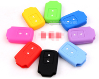 silicone car remote key cover for honda