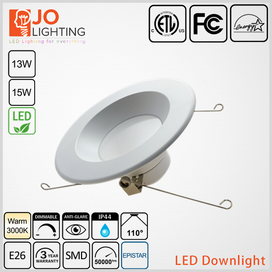 CETL APPROVED 6inch recessed multiple downlights JOLIGHTLED