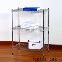 3 Tier Metal Wire Shelving