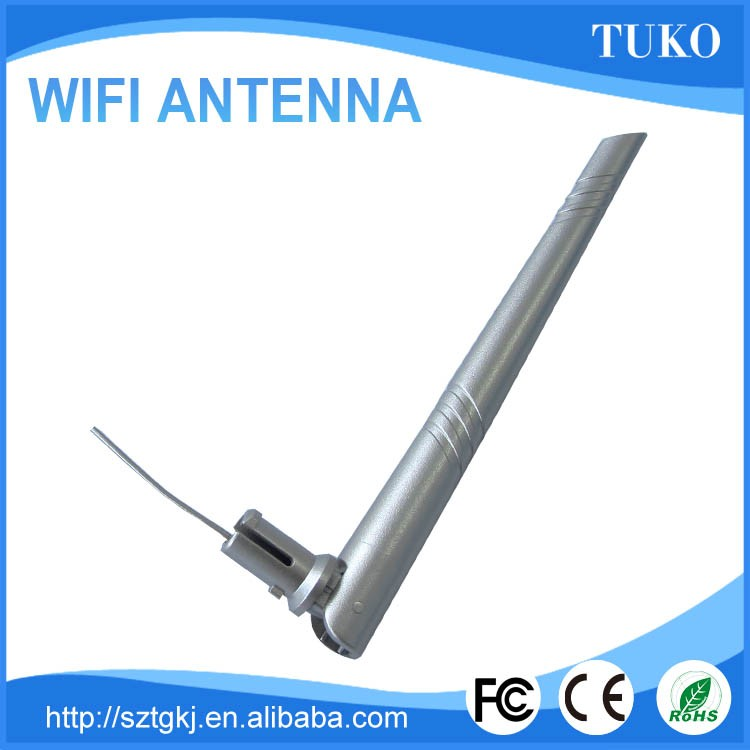 152mm cable length 2.4g antenna for wireless av sender
