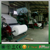 high quality virgin pulp paper dona making machine