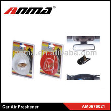 Best quality top car air fresheners of car shape paper air freshener