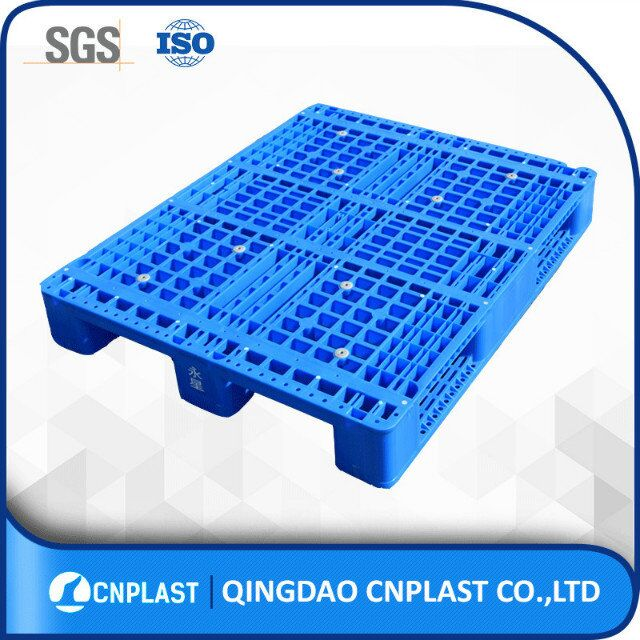 wholesale 4 way entry Plastic pallet substitute 40 x 48 single platic pallet