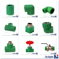 PPR pipe and fittings Factory best price ppr pipes size
