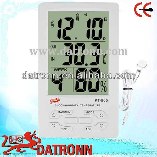 Thermometer LCD display KT905