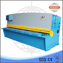 Hot sale product 6x3200mm CNC control hydraulic swing beam shearing machine, cut off machine with CE standard